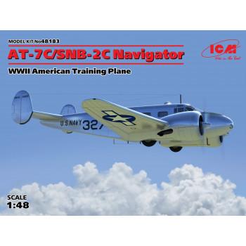 AT-7C/SNB-2C Navigator, армейский учебный самолет ІІ МВ сборная модель