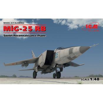 МиГ-25 РБ, Советский самолет-разведчик сборная модель