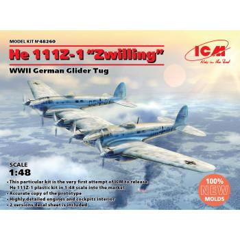 WWII German Glider Tug, Германский буксировщик планеров II МВ сборная модель