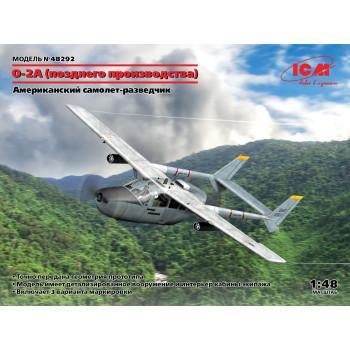 O-2A (позднего производства), Американский самолет-разведчик сборная модель
