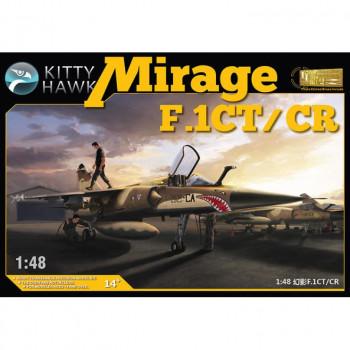 KH80111 1/48 Dassault Mirage F.1CT/CR Kit First Look, , шт от Kitty Hawk
