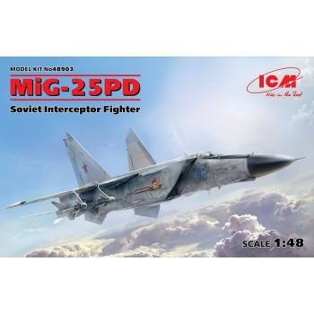 МиГ-25ПД, Советский истребитель-перехватчик сборная модель