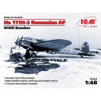 He 111H-3 ВВС Румынии, Бомбардировщик II МВ сборная модель