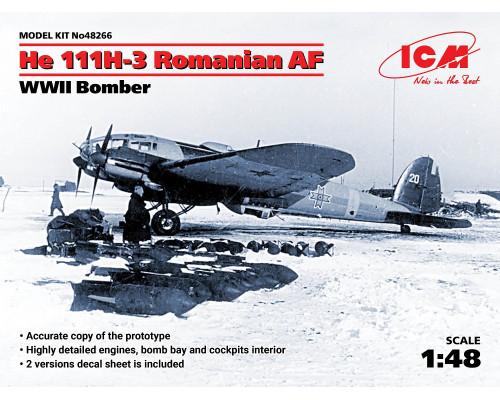 He 111H-3 ВВС Румынии, Бомбардировщик II МВ