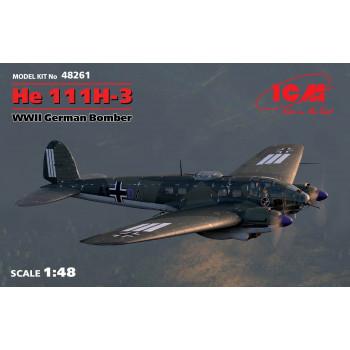 He 111H-3, Германский бомбардировщик ІІ МВ сборная модель