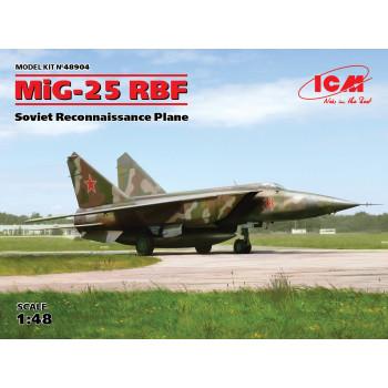 МиГ-25 РБФ, Советский самолет-разведчик сборная модель
