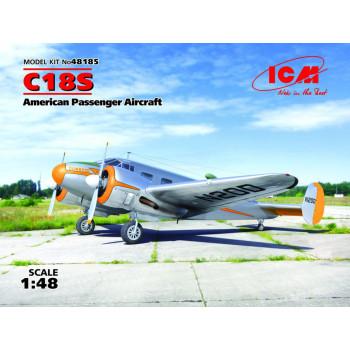 C18S,Американский пассажирский самолет сборная модель