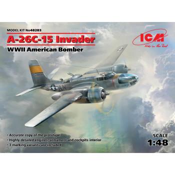 A-26С-15 Invader, Американский бомбардировщик II МВ сборная модель