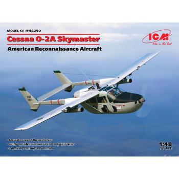 Cessna O-2A Skymaster, Американский самолет-разведчик сборная модель