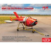 48400 ICM KDA-1 (Q-2A) Firebee с тележкой, 1/48