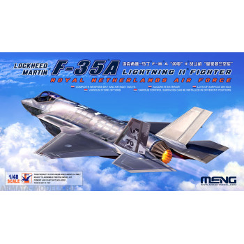 Сборная модель LS-011 1/48 Lockheed Martin F-35A Lightning II Fighter Royal Netherlands Air Force от MENG