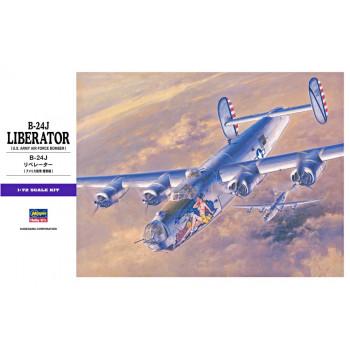 H01559 Hasegawa Бомбардировщик B-24J Liberator (1:72)