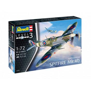 Британский истребитель Spitfire Mk. Vb времен Второй мировой войны