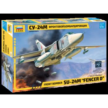 Самолет Су-24М сборная модель