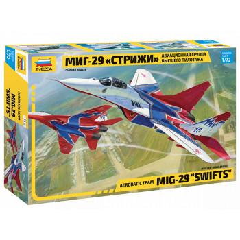 "zv7310 Самолет ""МИГ-29"" авиагруппа ""Стрижи"""