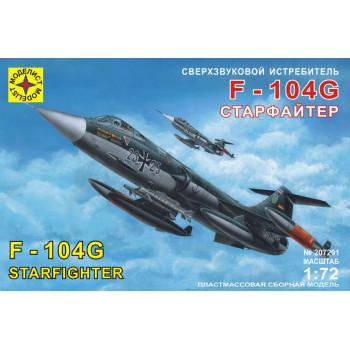 """Сверхзвуковой истребитель F-104G """"Старфайтер"""" (1:72)"""