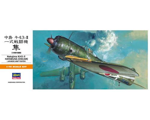 H00131 Hasegawa Истребитель Ki-43II Oskar (Hayabusa) (1:72)