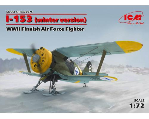 И-153, Истребитель ВВС Финляндии ІІ МВ (зимняя модификация)