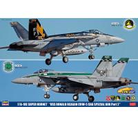 """H52143 Hasegawa Истребитель F/A-18E Super Hornet """"USS Ronald Reagan"""" CVW-5 CAG Special (1:72)"""