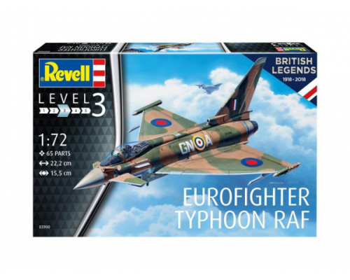 100 лет RAF: Еврофайтер Тайфун