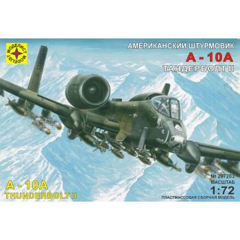 """Штурмовик A-10А """"Тандерболт"""" II (1:72)"""