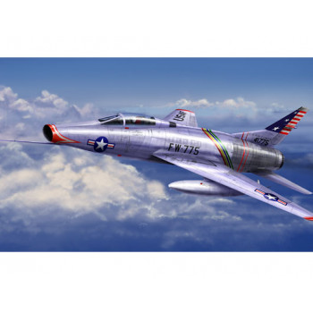 01648 American jet fighter North American F-100C Super Sabre