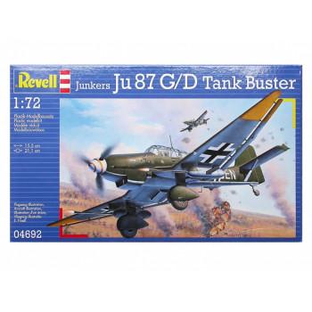 Военный самолет Junkers Ju 87 G-2 Tank Buster (1/72)