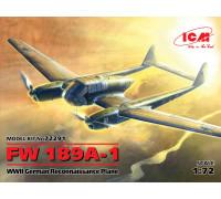 FW 189A-1, Германский самолет-разведчик II МВ