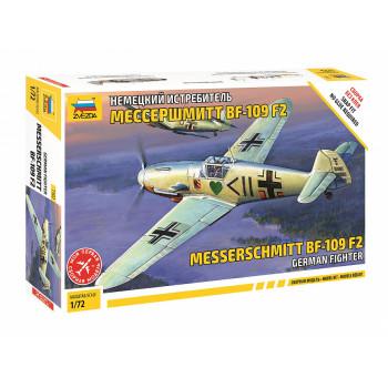zv7302 Немецкий истребитель Мессершмитт Bf-109F2