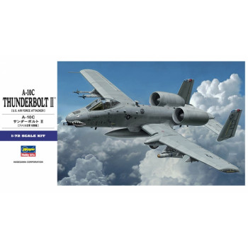 H01573 Hasegawa Штурмовик A-10C Thunderbolt II (1:72)