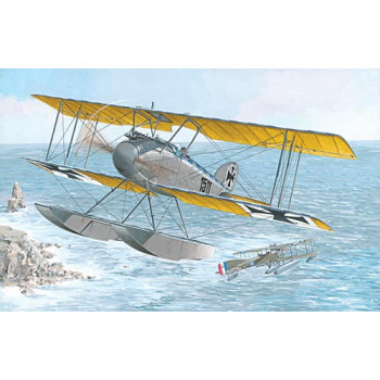 Самолет ALBATROS W4 (LATE)
