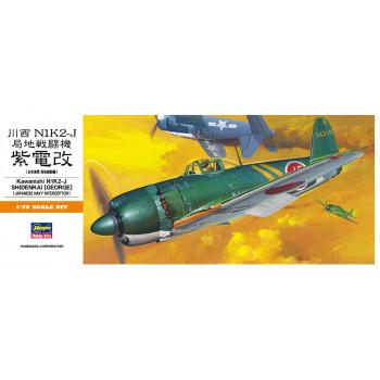 H00136 Hasegawa Истребитель M1K2-1 George (Shidenkai) (1:72)