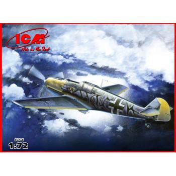 Bf 109E-7/B , WWII немецкий истребитель 2 МВ сборная модель