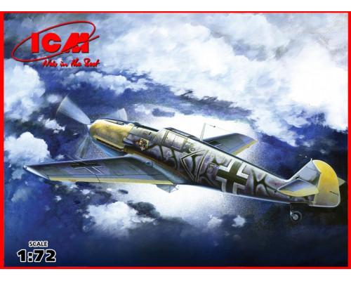 Bf 109E-7/B , WWII немецкий истребитель 2 МВ