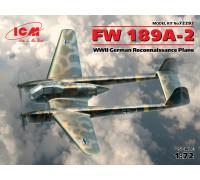 FW 189A-2, Германский самолет-разведчик ІІ МВ