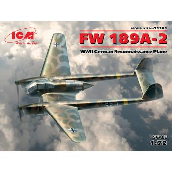 FW 189A-2, Германский самолет-разведчик ІІ МВ сборная модель