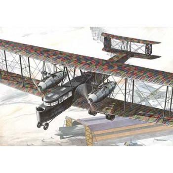 Самолёт ZEPPELIN STAAKEN R. VI сборная модель