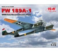 FW 189A-1, Самолет-разведчик стран Оси ІІ МВ