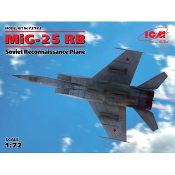 МиГ-25РБ, Советский самолет-разведчик сборная модель