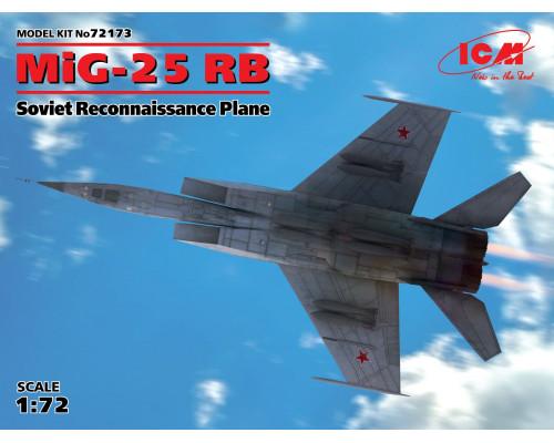МиГ-25РБ, Советский самолет-разведчик