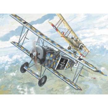 Rod007 Самолет FOKKER DVI