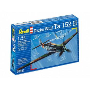 Перехватчик Focke Wulf Ta 152 H