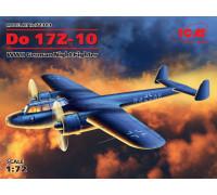 72303 ICM Do 17Z-10, Германский ночной истребитель ІІ МВ, 1/72