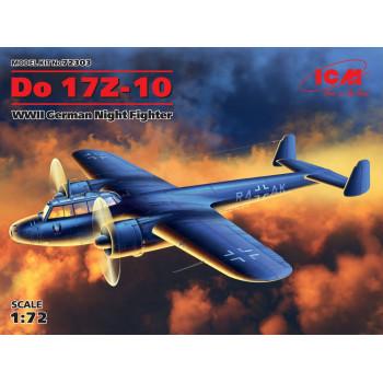 Do 17Z-10, Германский ночной истребитель ІІ МВ сборная модель