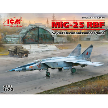 МиГ-25РБФ, Советский самолет-разведчик сборная модель