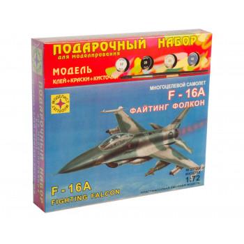 """Многоцелевой самолет F-16A """"Файтинг Фолкон"""" (1:72)"""