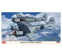 H02193 Hasegawa Набор из двух истребителей Ta 154A-1 и Fw-190A-8 (1:72)