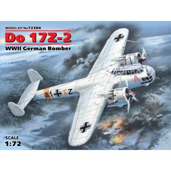 72304 ICM Do 17Z-2, Германский бомбардировщик ІІ МВ, 1/72