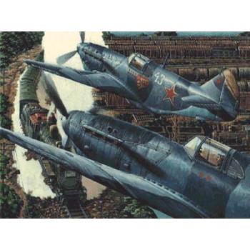 Rod039 Самолет ЛаГГ-3 66 серия