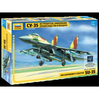 Самолет Су-35 сборная модель